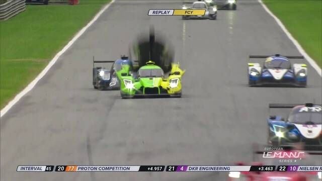 European Le Mans Series: 4 Hours of Monza - Flying bodywork