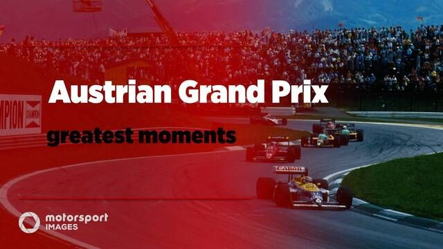 Grand Prix Greats – Austrian GP greatest moments