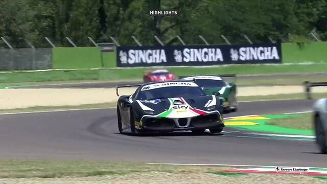 Ferrari Challenge Europe: Imola - Trofeo Pirelli - Race 2 - Highlights