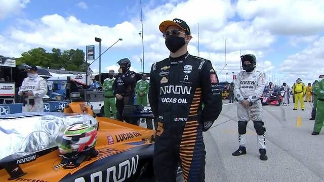 Lo destacado carrera 2 Road America IndyCar