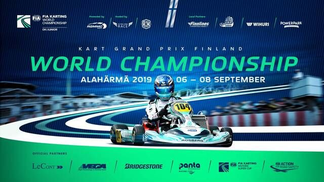 FIA Karting European OK/Junior World Championship - Alahärmä - Sunday