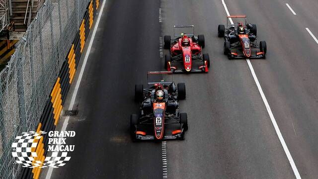 Macau GP: FIA F3 World Cup - Race