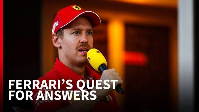 Vettel ducked the question about Ferrari's cooling