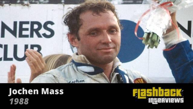 1988 WSC Fuji 1000 Kms, interview with Jochen Mass - WEC Videos