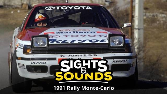 Sights & Sounds: Rallye Monte Carlo 1991