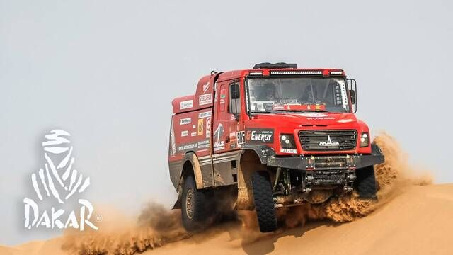 Dakar 2021: Etappe 11 Highlights - Trucks