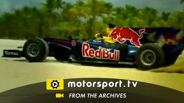 Red Bull F1: Flat out on the beach
