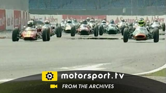 Silverstone Classic 2008: Formula Junior race start