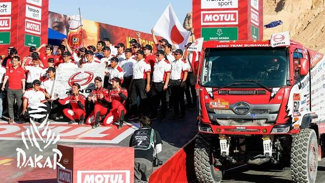 Rallye Dakar 2020: Highlights Trucks Etappe 12