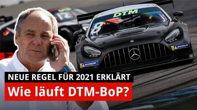 Balance of Performance: So soll es gelingen! | DTM-Regeln 2021 | Interview Gerhard Berger