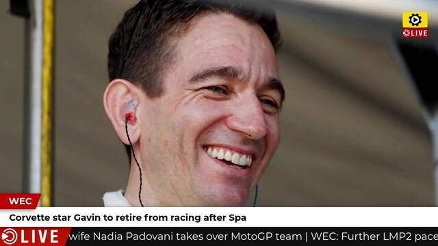 Oliver Gavin announces retirement after Spa