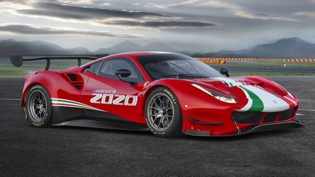2020 Ferrari 488 GT3 Evo video debut