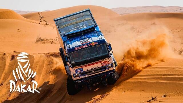 Dakar 2021: Etappe 6 Highlights - Trucks