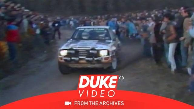 Walter Rohrl's incident with cameraman at Rally Portugal 1985