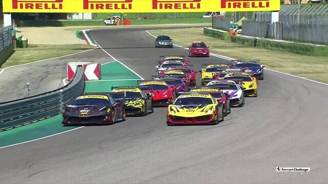 Ferrari Challenge Europe: Imola - Coppa Shell - Race 2