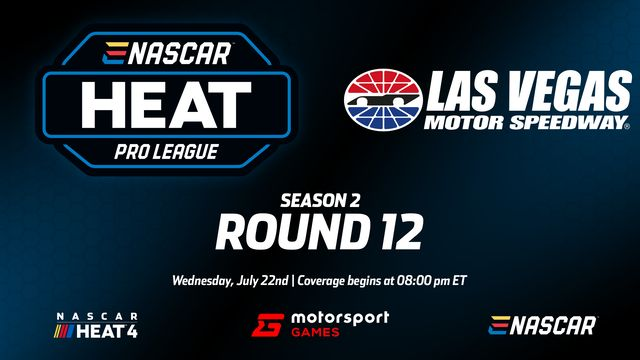Directo: eNASCAR Heat - Pro League - Ronda 12