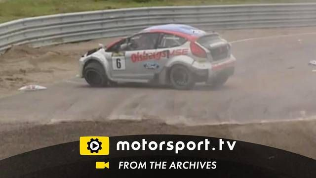 European Rallycross Sweden 2011: Roll-over