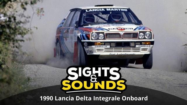 Sights & Sounds: Lancia Delta Integrale Onboard, 1990