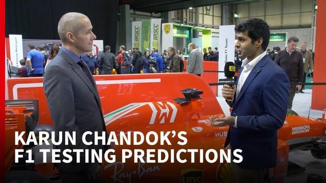 What to expect from F1 testing - with Karun Chandok