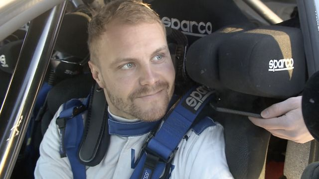 Bottas reflects on his first rally experience