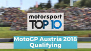 Top 10 Highlights Qualifying | MotoGP Austria 2018