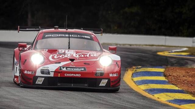 Petit Le Mans: Porsche - Close Competition