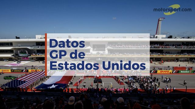 Datos del GP de Estados Unidos