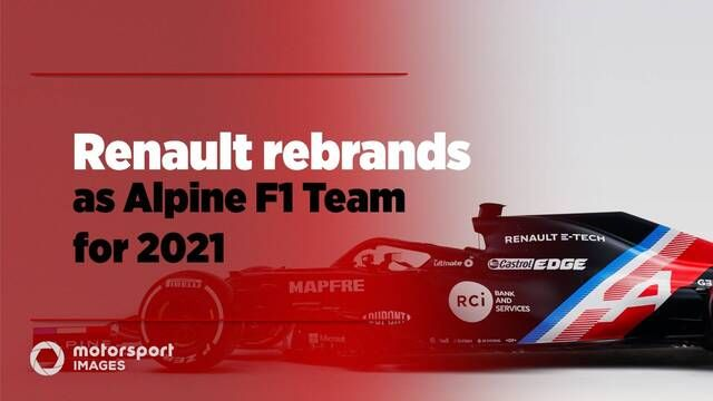 Renault rebrands as Alpine F1 Team for 2021