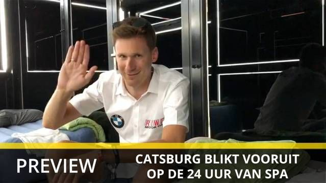 Nick Catsburg over de 24 uur van Spa-Francorchamps