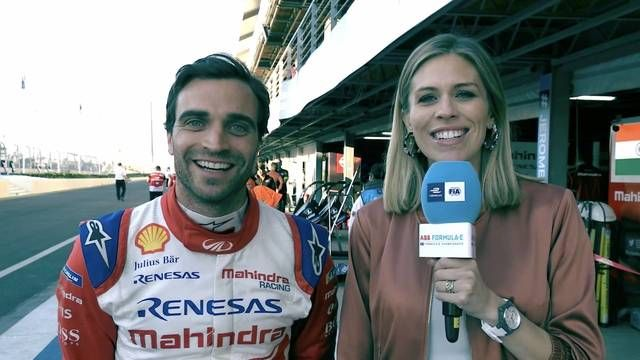 Interview with Marrakesh ePrix winner Jerome D'Ambrosio