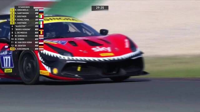 Ferrari Challenge Europe: Portimao - Coppa Shell - Race 2 start