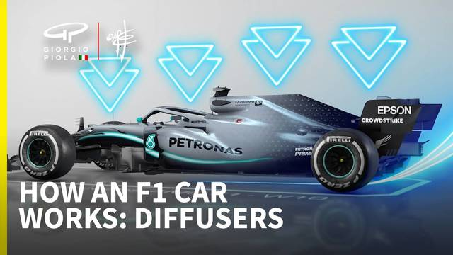 How a Formula 1 car works: Episode 4 - Diffuser