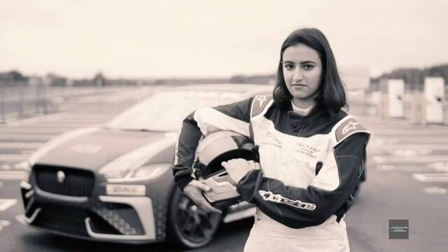 Jaguar i-PACE eTROPHY: Reema Juffali feature