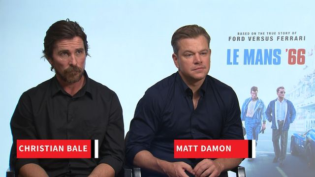 Le Mans 66 - Interview de Christian Bale et Matt Damon