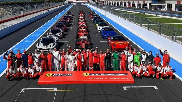 Ferrari XX and F1 Clienti - Paul Ricard