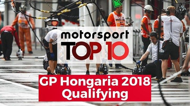Top 10: Qualifying in Budapest