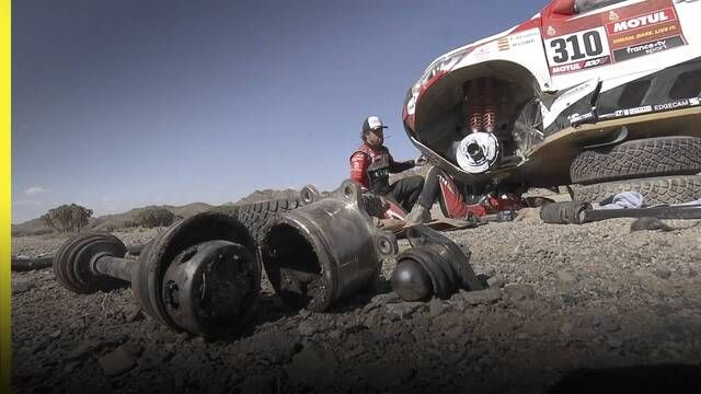 Dakar 2020 Etapa 2: incidente de Alonso