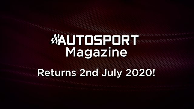 Autosport Magazine - Returns 2nd July