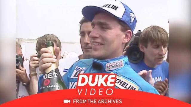 WATCH: Stephane Peterhansel wins the 1991 Paris-Dakar Rally