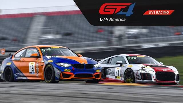 Live: VIRginia - GT4 America SprintX - Race 2