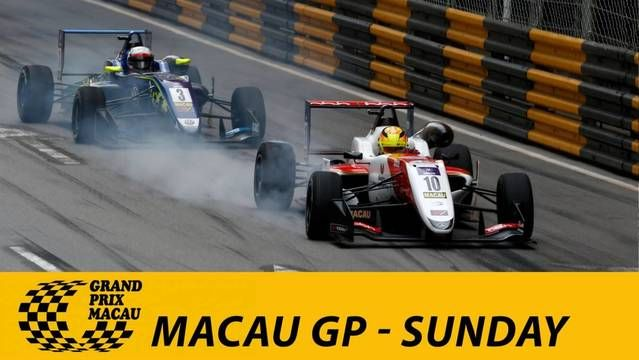 Live: Macau Grand Prix - Sunday