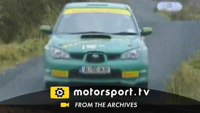 Rally Ireland 2010: Subaru crash