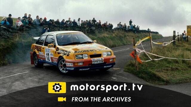 Manx Rally 1989: Sierra's charging