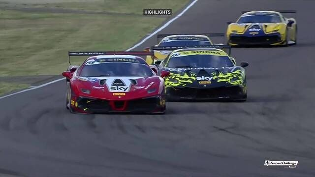 Ferrari Challenge Europe: Imola - Coppa Shell - Race 1 - Highlights