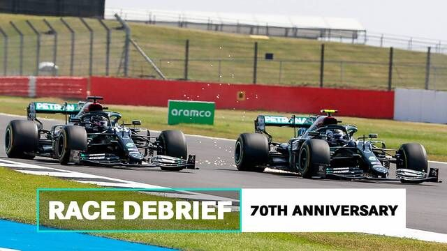 Blistering, Tyre Choices and More | 2020 70th Anniversary GP Mercedes AMG F1 Debrief