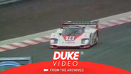 Vern Schuppan goes off track at 1984 1000 kms of Nurburgring