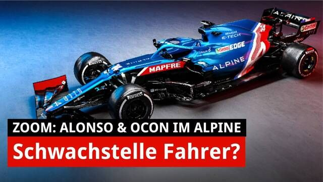 Zoom: Die neuen F1-Autos von Alpine, Williams, Haas & Co.