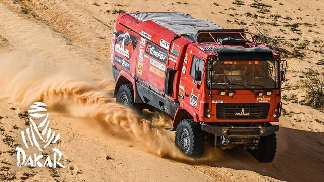 Rallye Dakar 2020: Highlights Trucks Etappe 5