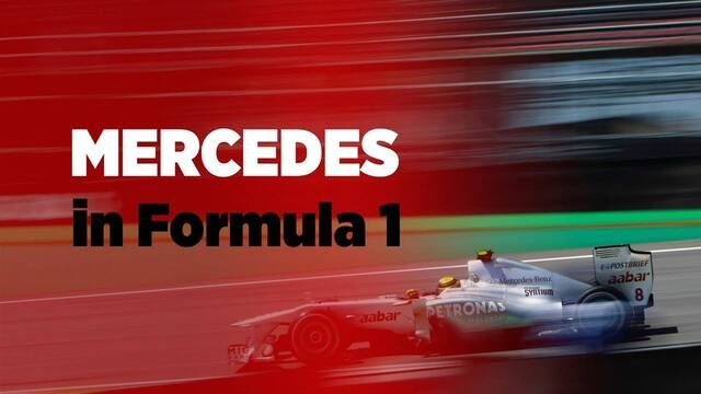 Grand Prix Greats - Mercedes in F1