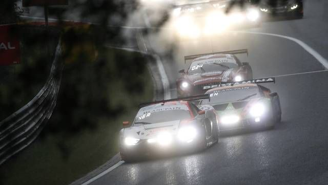 Spa 24 Horas: Rast y Goodwin chocan